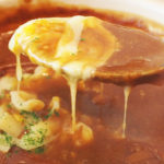 [ランパス2店目]チーズ土鍋カレー+ミニキャベツサラダ 薬院のカレー&ダイニング濱司