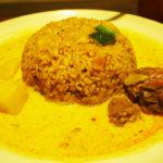 [ランパス7店目]常連客で埋め尽くされていたドライカリーランチのお店。 清川のスリランカ家庭料理モナラ