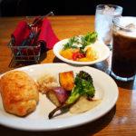 [ランパス14店目]彩り野菜がこれでもか!ってくらいたっぷりの食べ放題付き糸島豚の低温ロースト。リッチモンドホテルの「夜光杯」